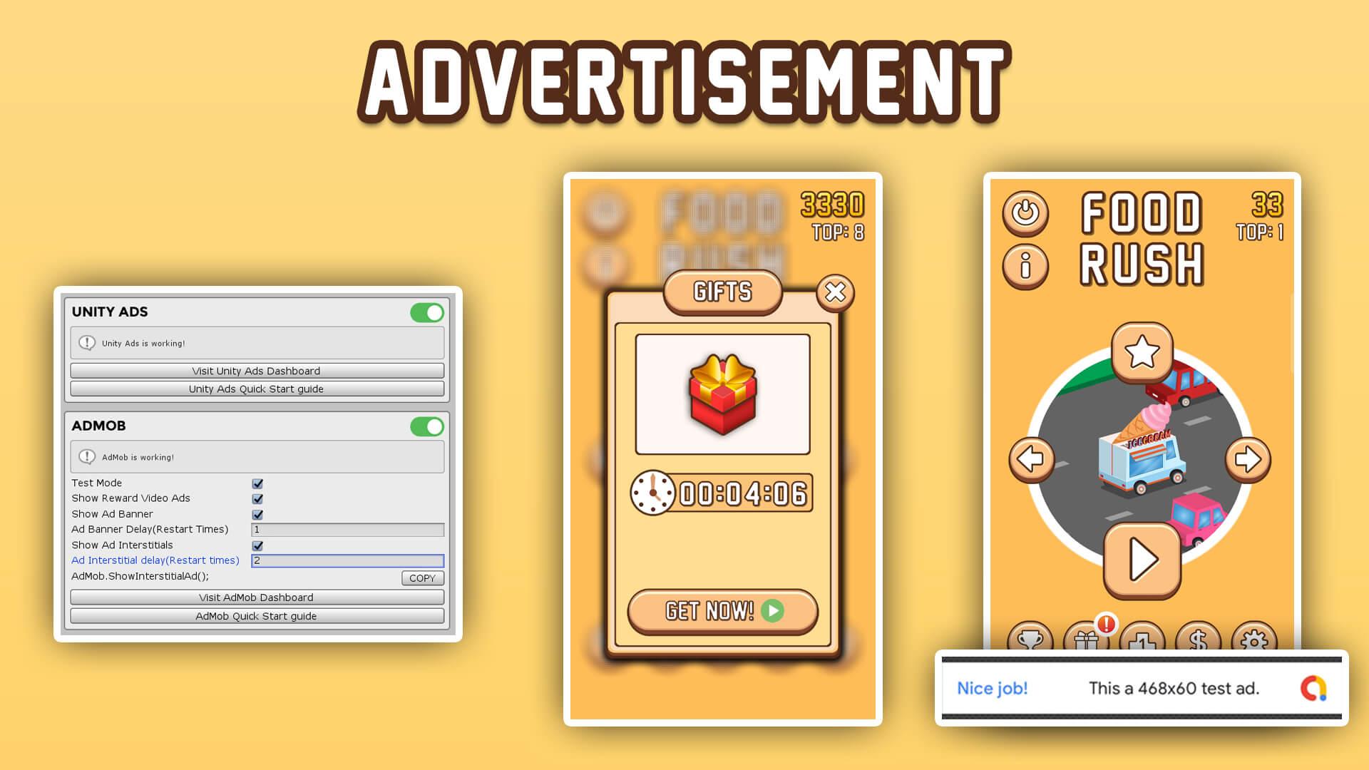 Buy Food Rush App source code - Sell My App