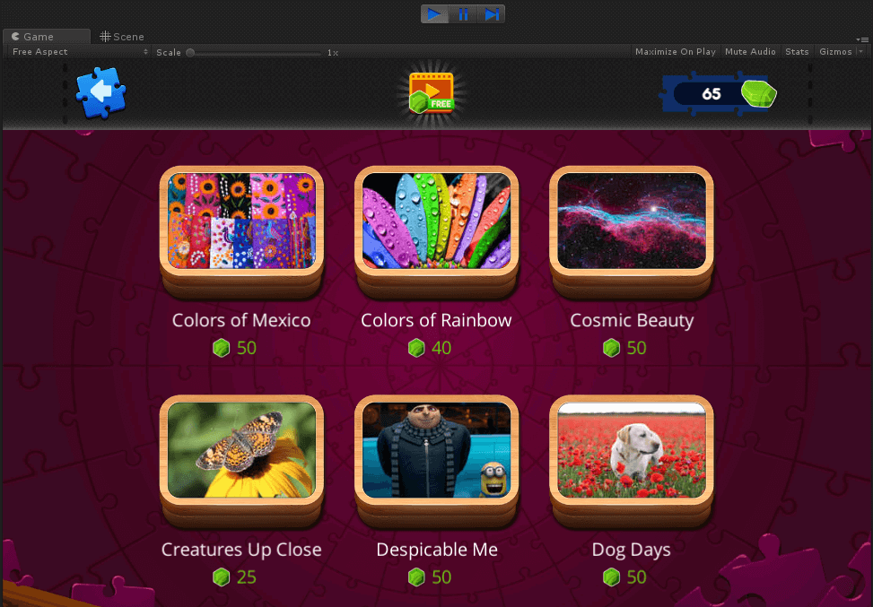 Buy Magic Jigsaw App source code - Sell My App