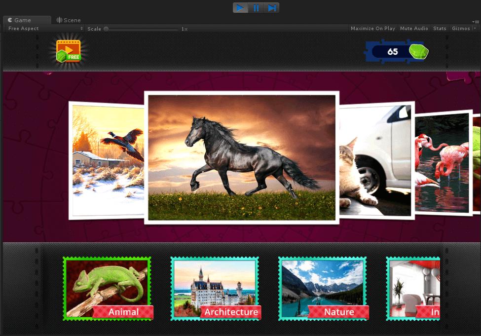 Buy Magic Jigsaw App source code - Sell My App