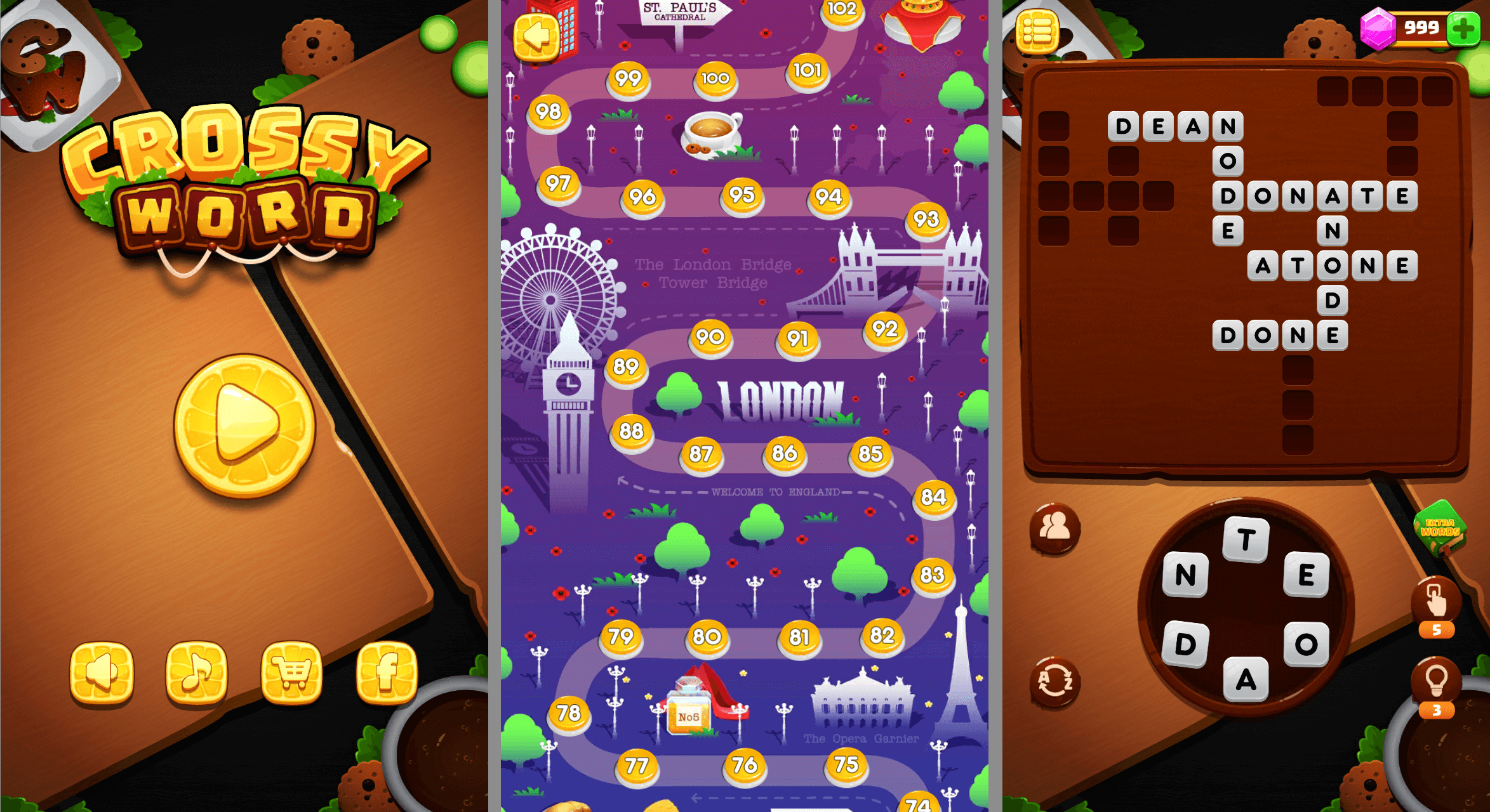 Word Link: Wordscapes Unity Compete Project