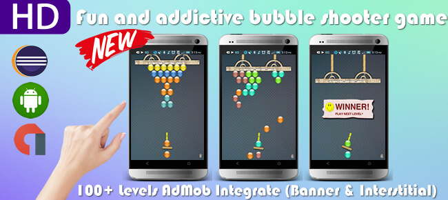 Bubble Shooter HD Android Game