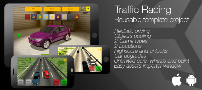 Buy Traffic Racing Unity App source code - Sell My App