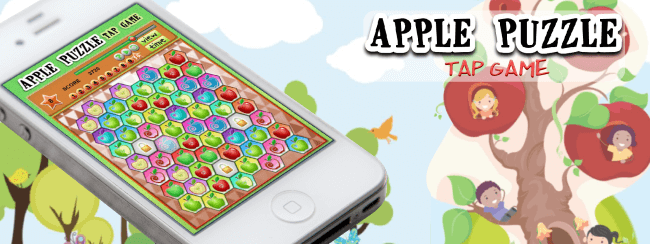 Kids Apple Puzzle Match Game