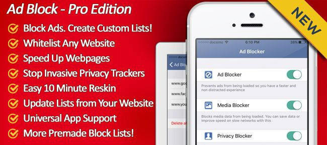 Buy Ad block - Pro edition app source code - Sell My App