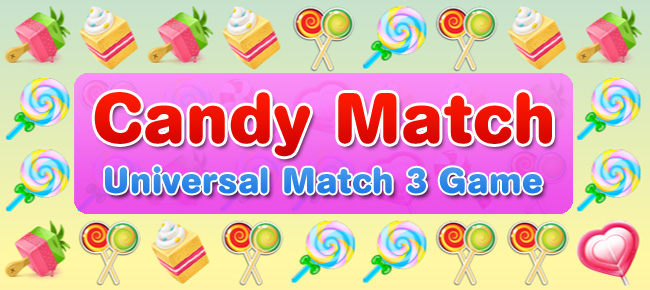 Candy Match – Universal match 3 symbols game iOS
