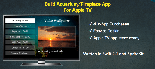 Video Wallpaper App – Apple TV