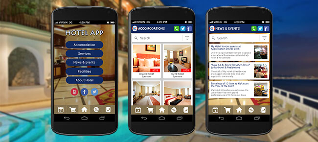 Hotel Booking Android App