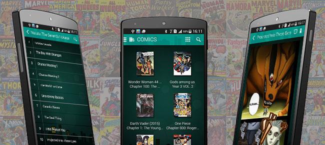 Comic, manga Android App