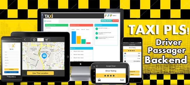 Buy Taxi Clone App source code - Sell My App