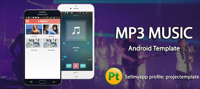 MP3 Music Template for Android