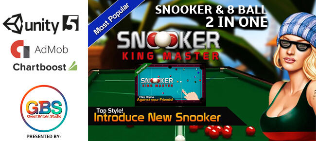 Snooker King Master: 8 Ball , 9 Ball , Pool
