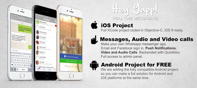 Buy Hey Yapp! WhatsApp App source code - Sell My App
