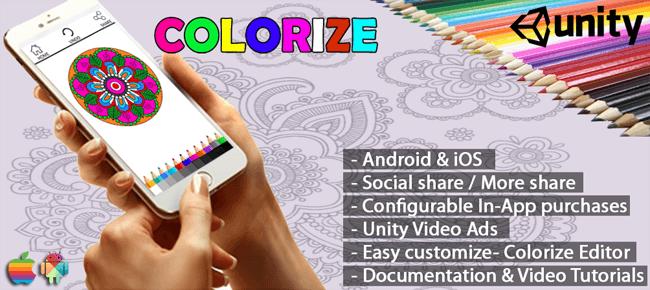 Colorize Adult Coloring App – Unity
