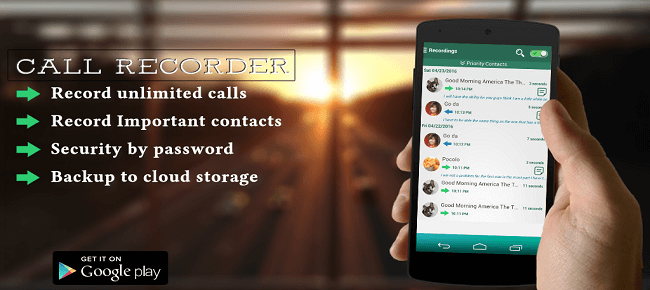 Buy Automatic Call Recorder App source code - Sell My App