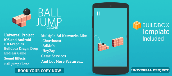 Buy Ball Jump Clone App source code - Sell My App