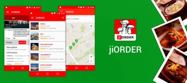 Buy jiORDER Food Ordering App source code - Sell My App