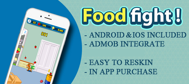 Buy Tom & Jerry Food Fight App source code - Sell My App