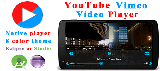 Buy YouTube Vimeo Video Player source code - Sell My App
