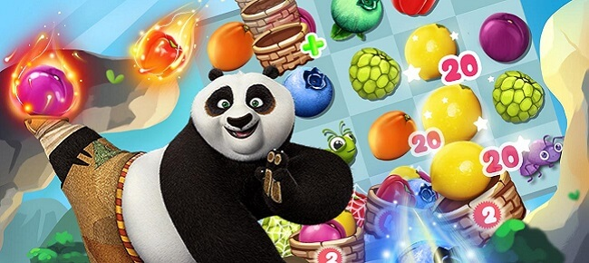 Panda & Fruit Farm – Match 3 complete game