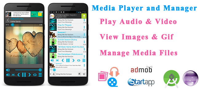Media Player and Manager (Audio, Video, Image)