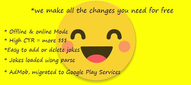 Android Joke App Template