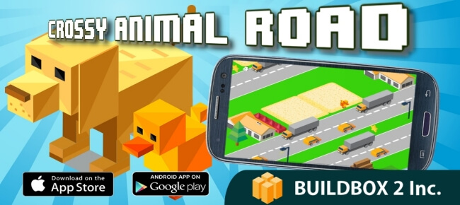 Buy Crossy Animal Road Buildbox template - Sell My App