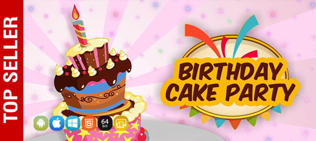 Fine Buy Birthday Cake Party App Source Code Sell My App Funny Birthday Cards Online Alyptdamsfinfo