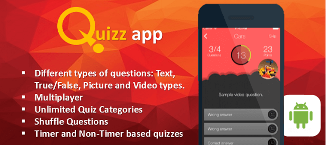 Buy Quiz App Starter Kit All In One Android - Sell My App