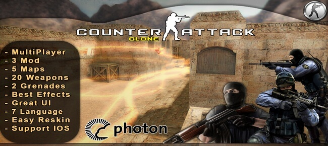 Buy Unity Counter-Strike Clone Multiplayer - Sell My App