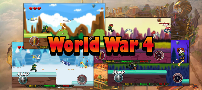 Buy World War 4 complete game source code - Sell My App