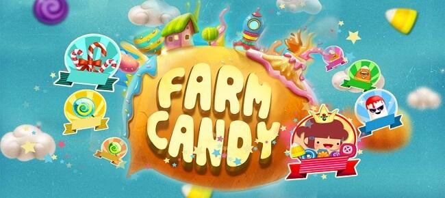 پروژه کامل یونیتی Candy Farm complete game