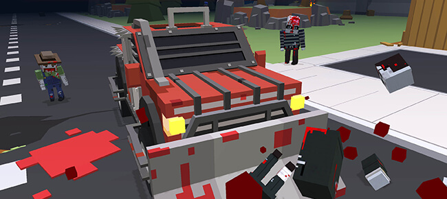 Buy Blocky Zombie Highway Unity source code - Sell My App