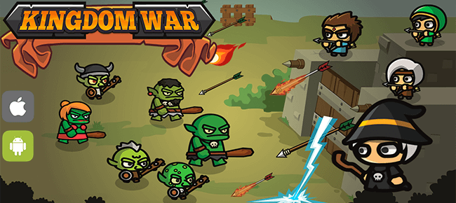 Kingdom War Complete game + LEVEL EDITOR