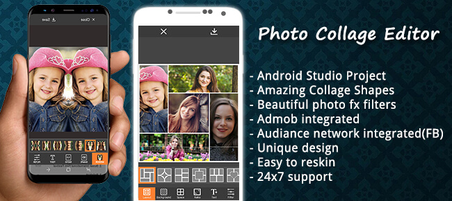 Buy Photo Collage Editor App source code - Sell My App
