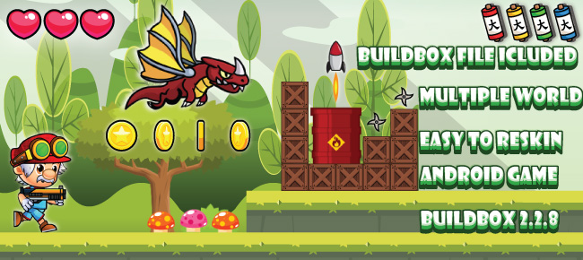 NULLED] Game Templates Jungle adventure world Reskin Game
