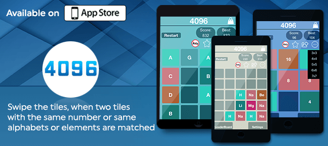 4096 Number Puzzle – Double The Challenge