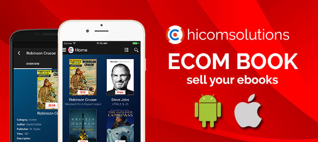 Bookstore: sell your online ebooks Android
