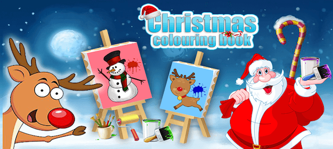 Buy Christmas Colouring Book App Source Code