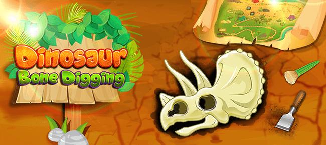 پروژه کامل یونیتی Dinosaur Bone Digging Games