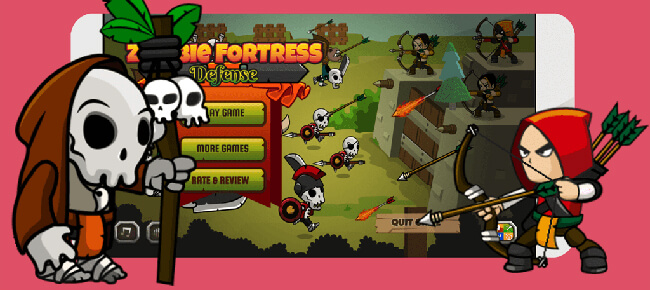 Zoombie Fortress Defence