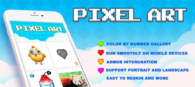 Buy Pixel Art Color By Number (Top Free Game) - Sell My App