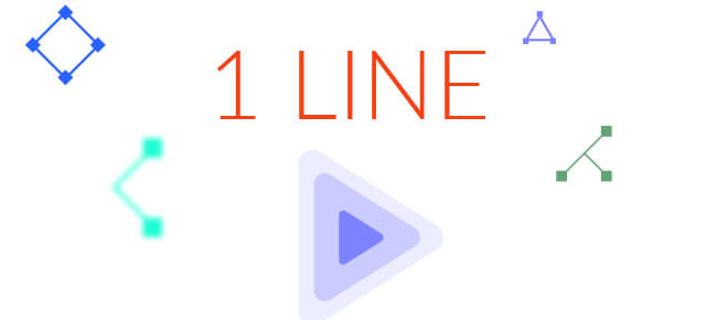 1LINE one-stroke puzzle