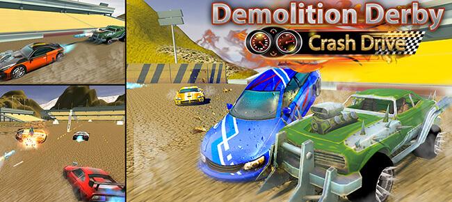 Demolition Derby Xtreme Destruction: Real Car Wars