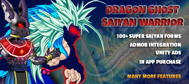 Buy Dragon Ghost Saiyan Warrior App source code - Sell My App