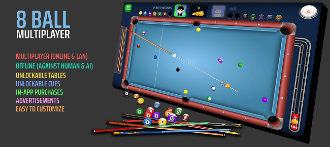 8 Ball Multiplayer – 8 Ball Pool Unity Template