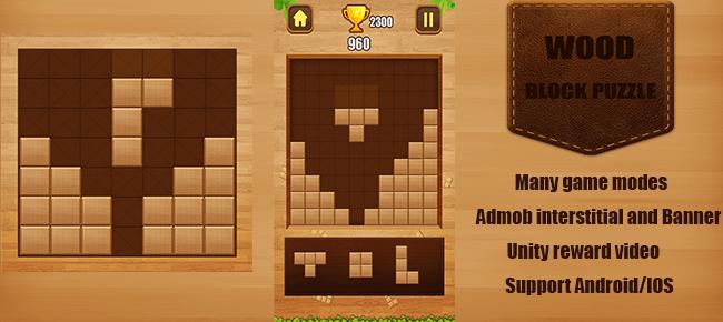 Buy Wood Block Puzzle App source code - Sell My App
