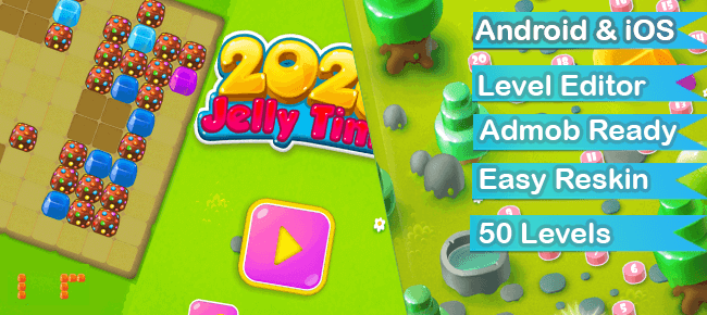 Buy Block Jelly Puzzle App source code - Sell My App