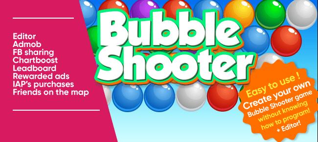 Rabbit Manya Bubble Shooter + EDITOR