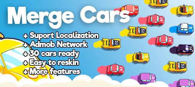 Merge Cars – Best idle Game – Template Merge plane, Merge fish, Merge Game