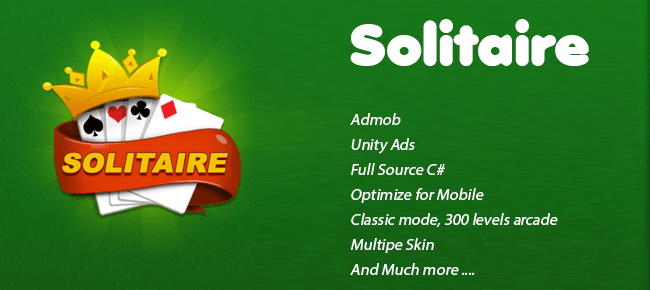 Solitaire Classic – 300 levels
